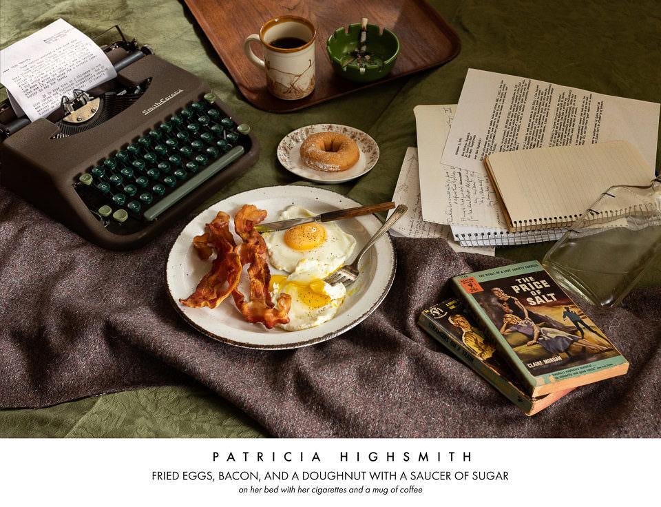 Frühstück auf einem Tisch