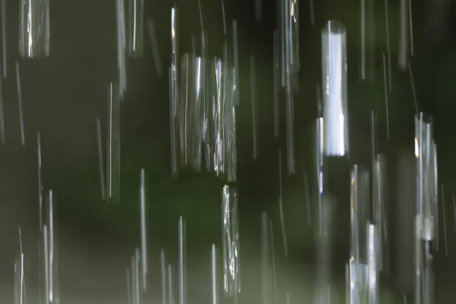 Abstrakte Lichtspuren.