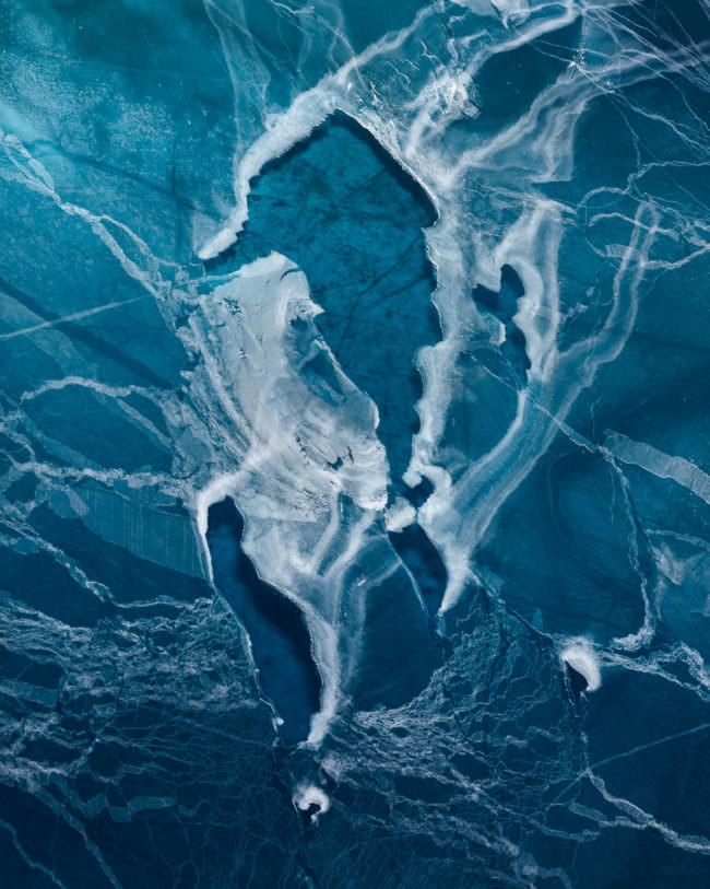 Eis von oben