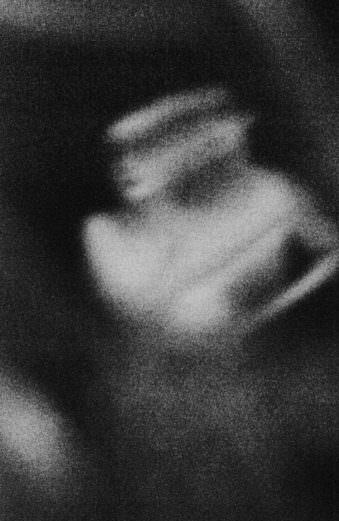 surreales Schwarzweiß-Bild