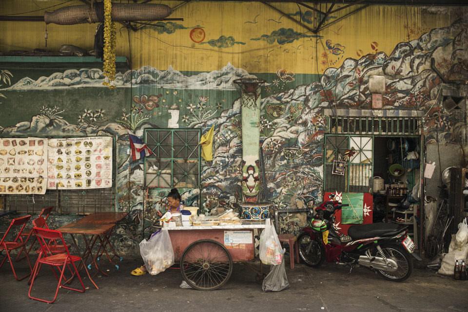 Straßenszene Chinatown