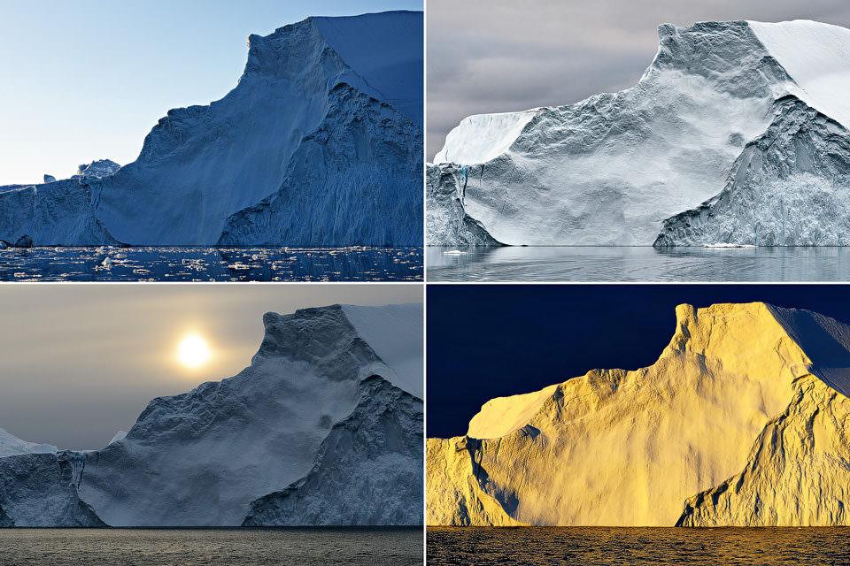 Vier Berge