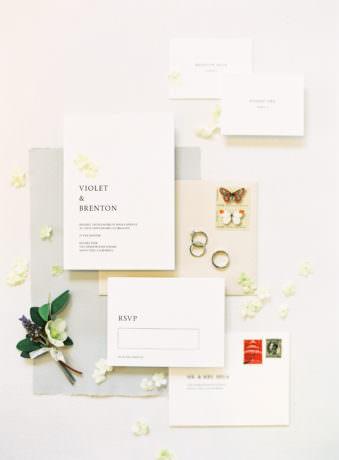 Einladungen und Deco
