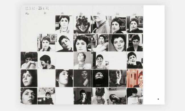 Collage aus mehreren Frauenportraits
