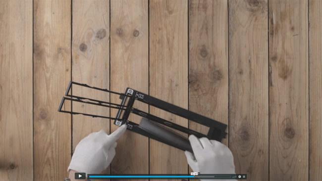 Screenshot, Hände mit negativschablonen