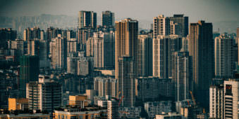 Eine Großstadt
