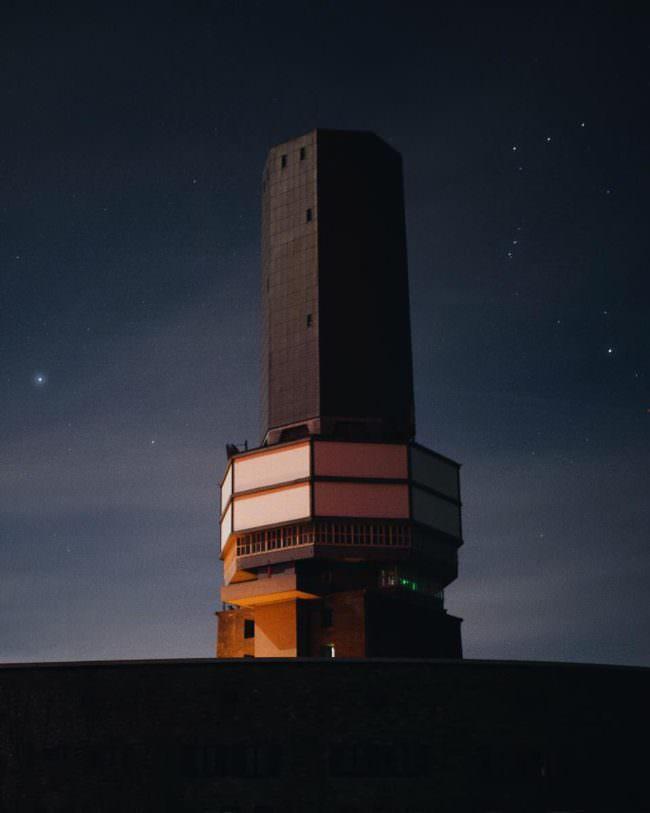 Turm imit Nachthändler