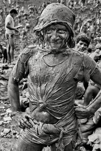 Portrait eines Minenarbeiters