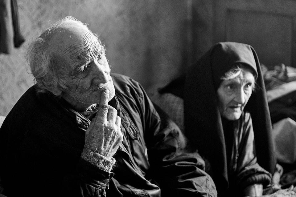 Portrait eines Mannes und einer Frau