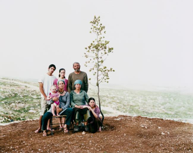 Familienportrait draußen