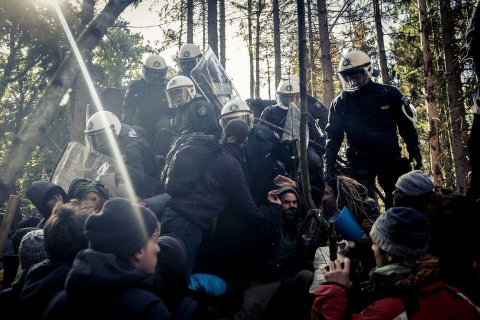 Polizeiräumung