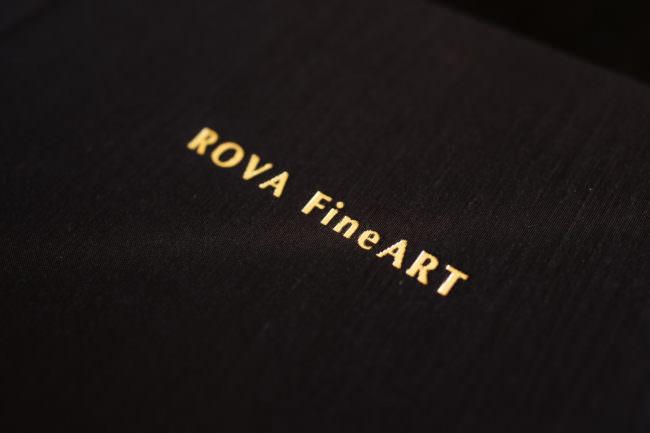 Goldschrift im Einband