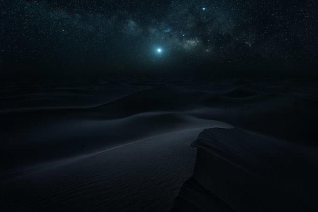 Wüste bei Nacht