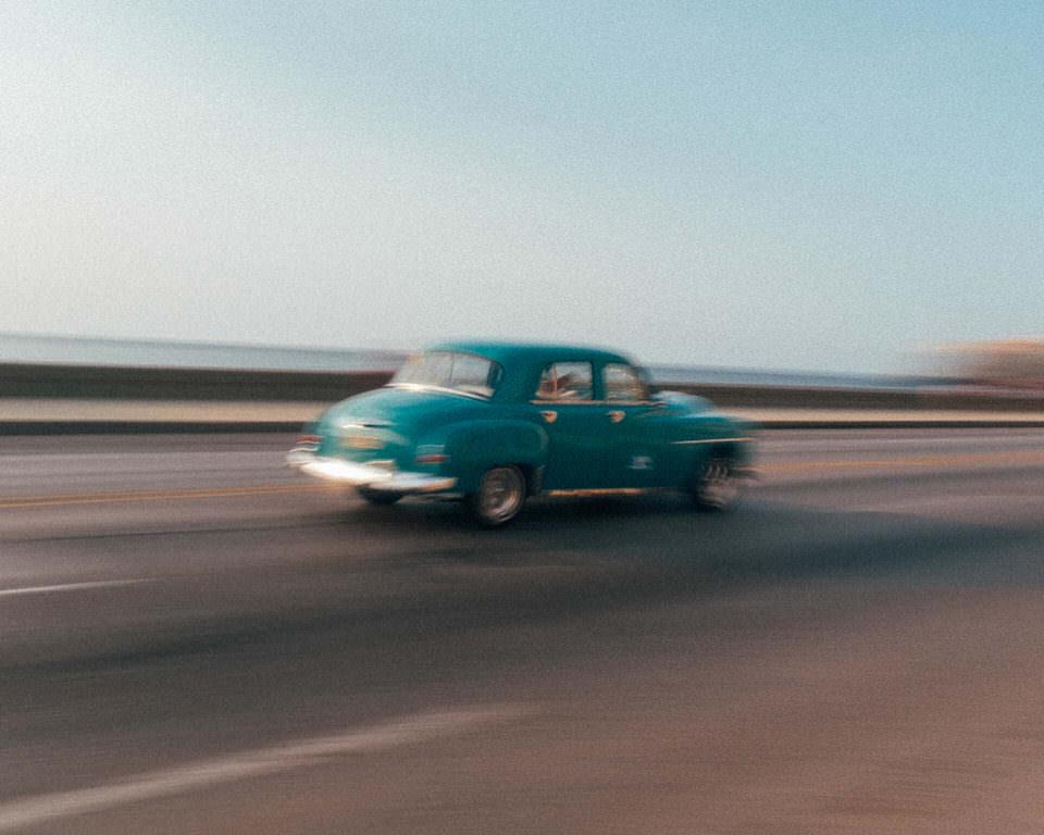 fahrendes Auto