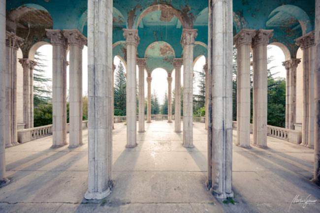Alte Säulenhalle
