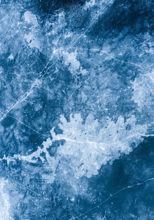 Eisoberfläche