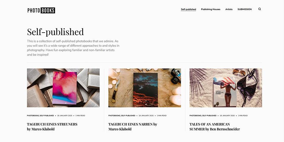 Photobooks Online: Ein Archiv für Fotobücher - kwerfeldein – Magazin für Fotografie