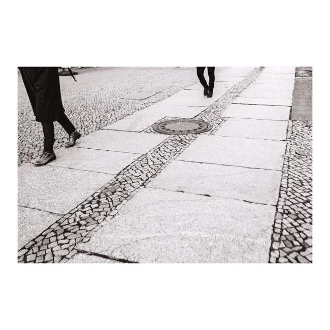 Laufende Menschen