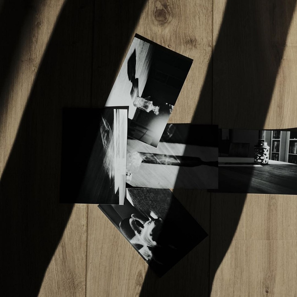 Collage Fotos mit Schatten