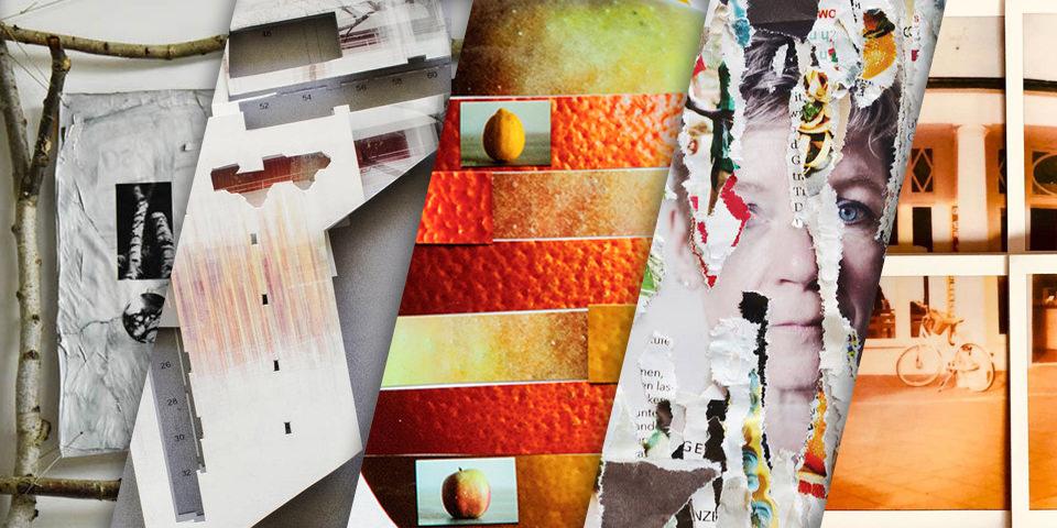 Collage aus Collagen