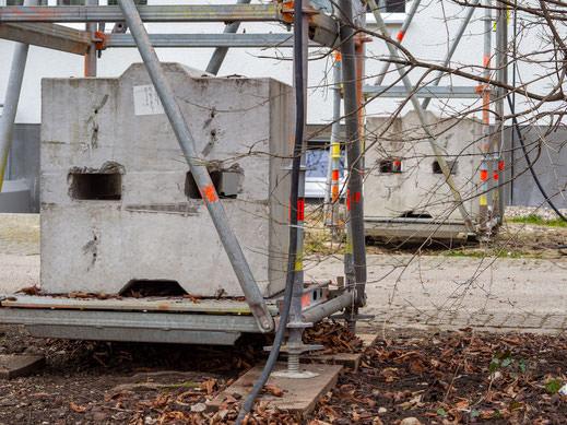 Baustelle mit Pareidolien