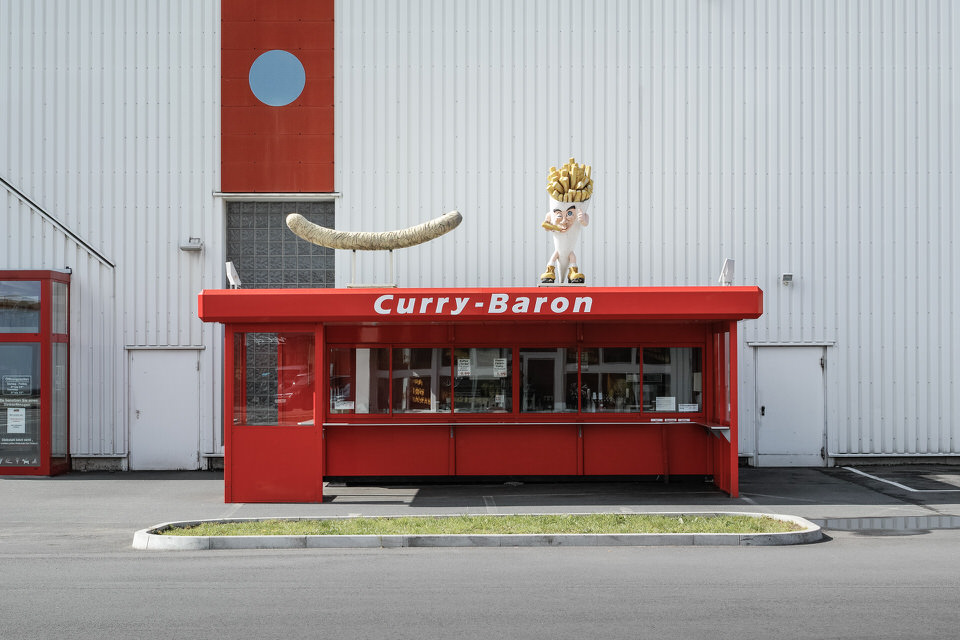 Currywurst-Bude