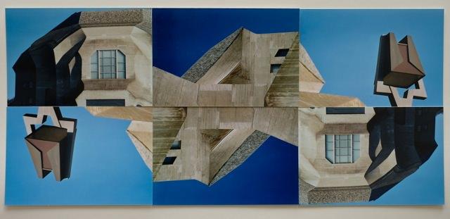 Collage einer Architektur