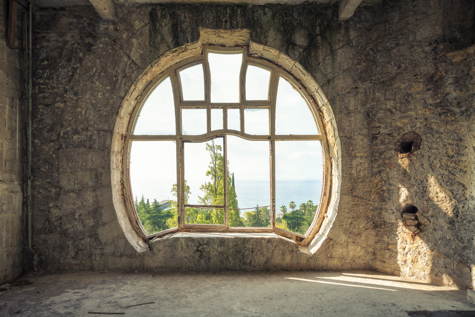 Rundes Fenster