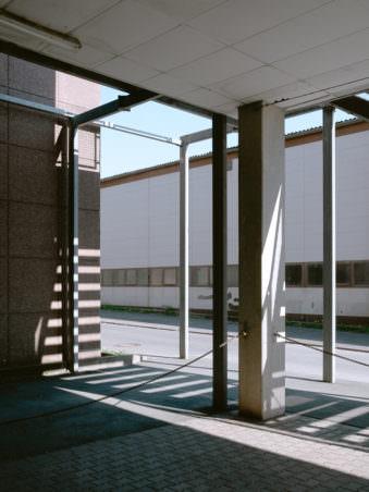 Architektur mit Lichtspiel