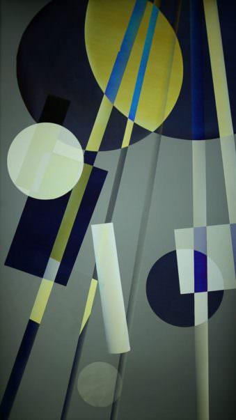 abstraktes Bild aus Formen