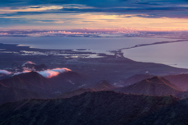 Landschaft von oben