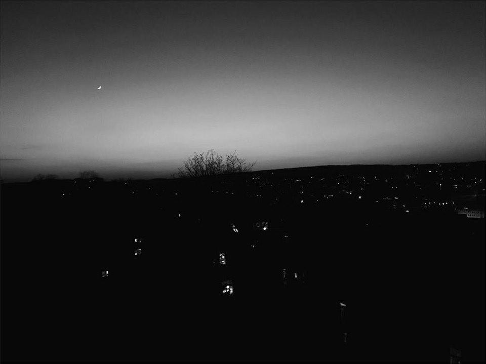 nächtlicher Horizont