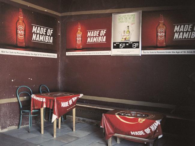 Innenbereich einer Bar