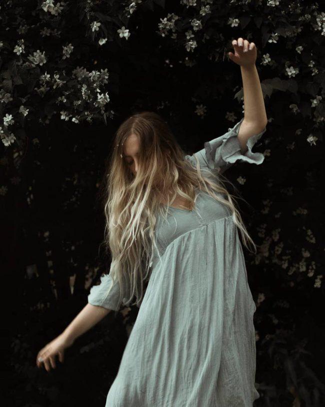 Tanzende Person