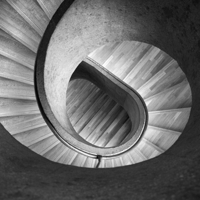 Treppenhaus von oben