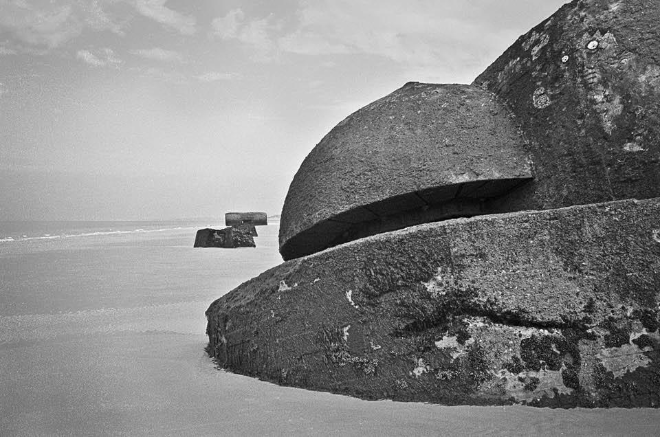 Bunkeranlage am Strand