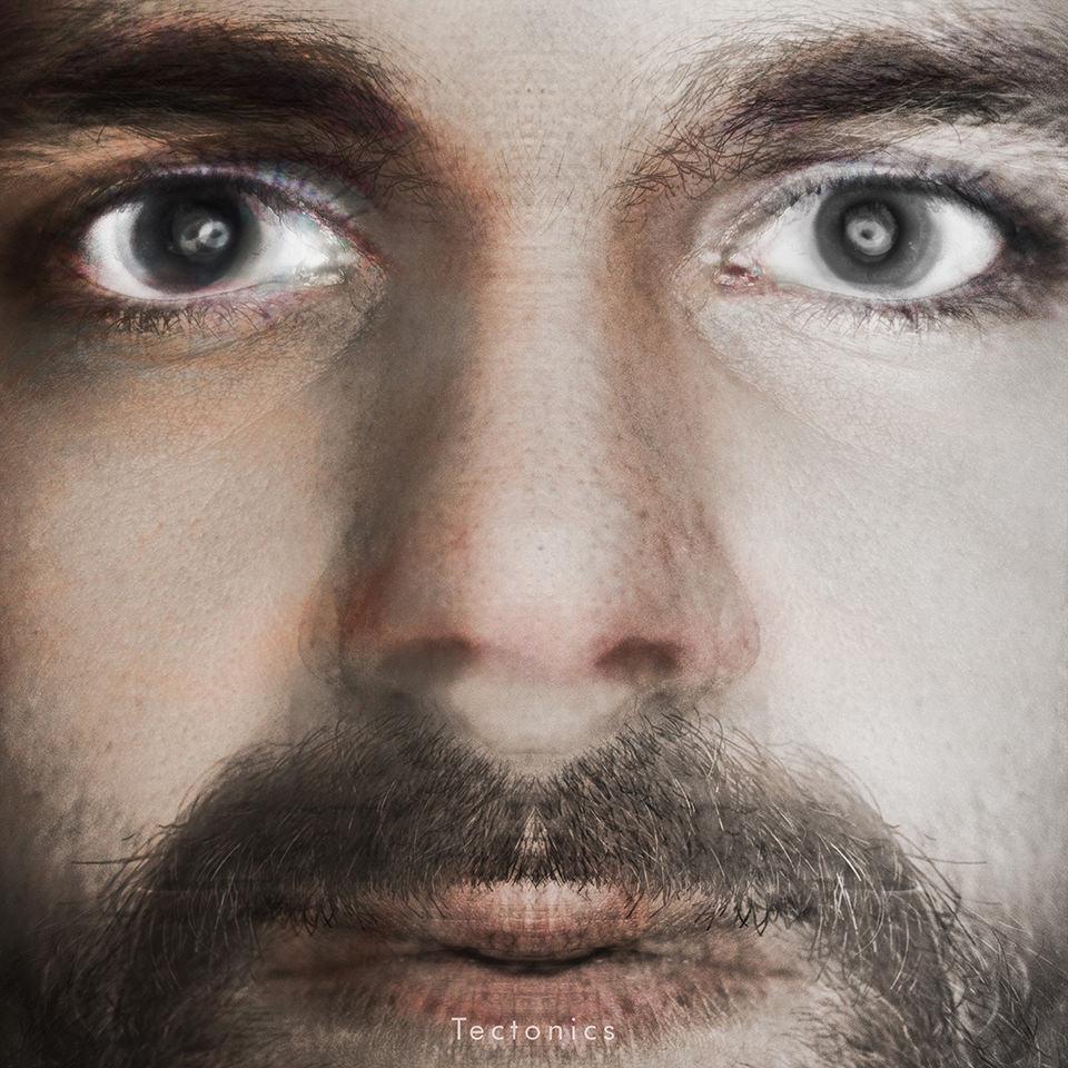 Collage in der zwei Gesichter ineinander verschmelzen