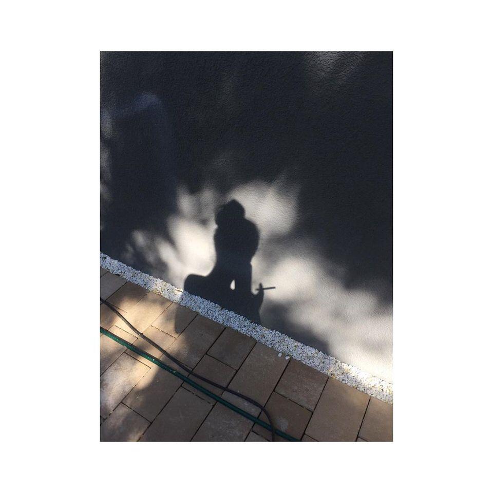 Licht und Schatten an einer Hauswand