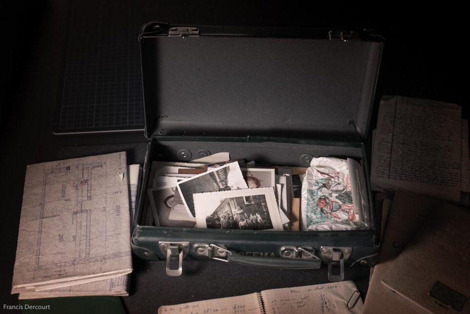 Ein Koffer voller Fotos