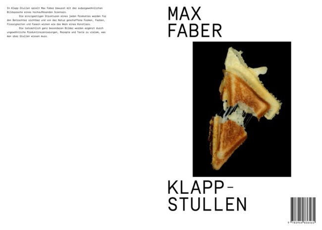 Buchcover Max Faber Klappstullen