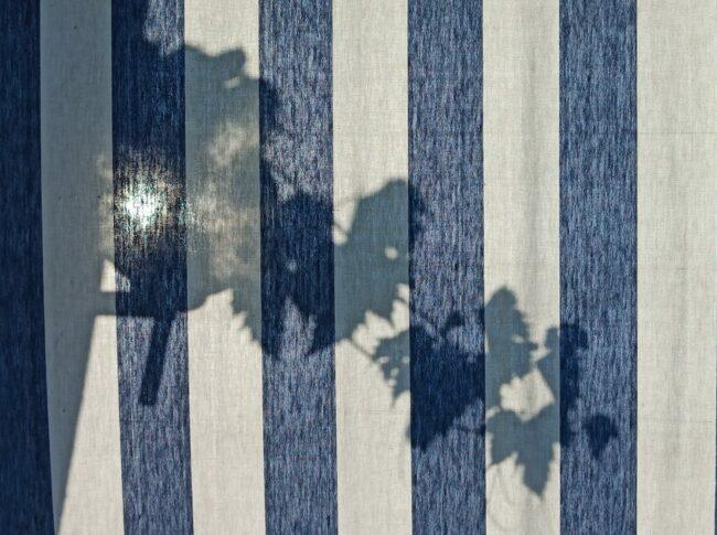 Schatten auf einer Markise