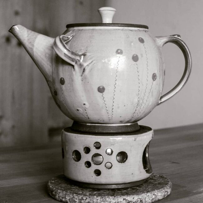 Eine Teekanne