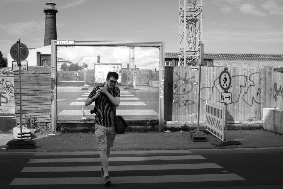 Straßenszene