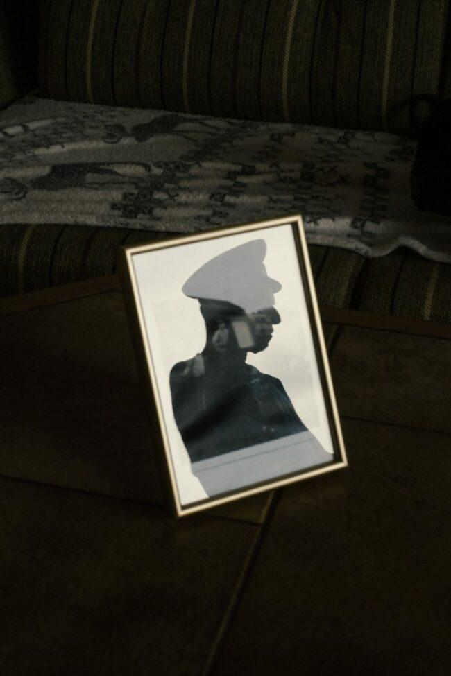 Foto mit Schattenschnitt