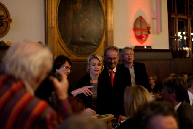 Portrait Menschen auf einer Feier