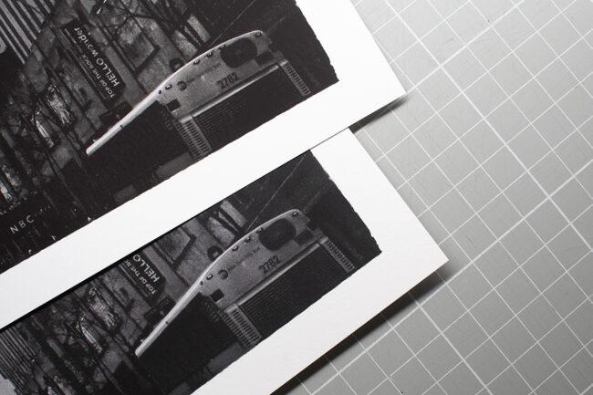 Detailvergleich von zwei Bildern