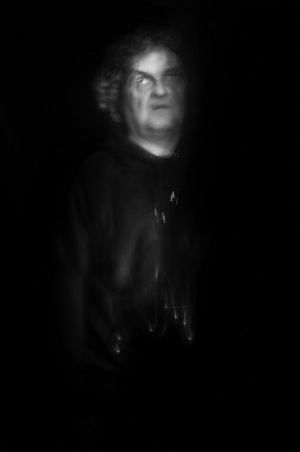 Surreales Portrait, leicht verschwommen