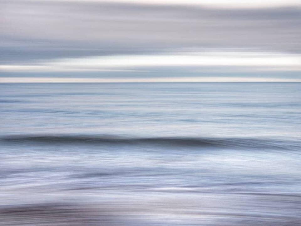 Unscahrfes Meer