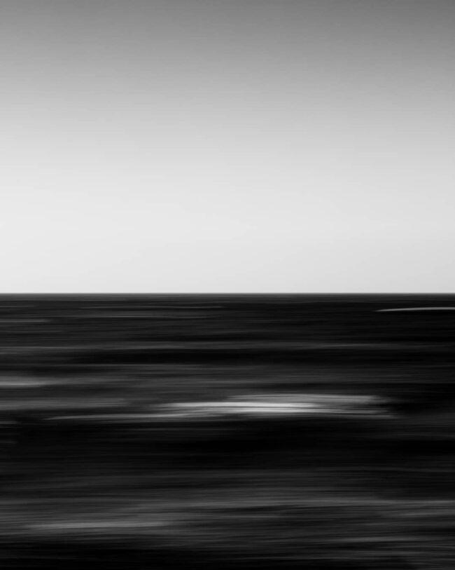 Verschwommenes Meer