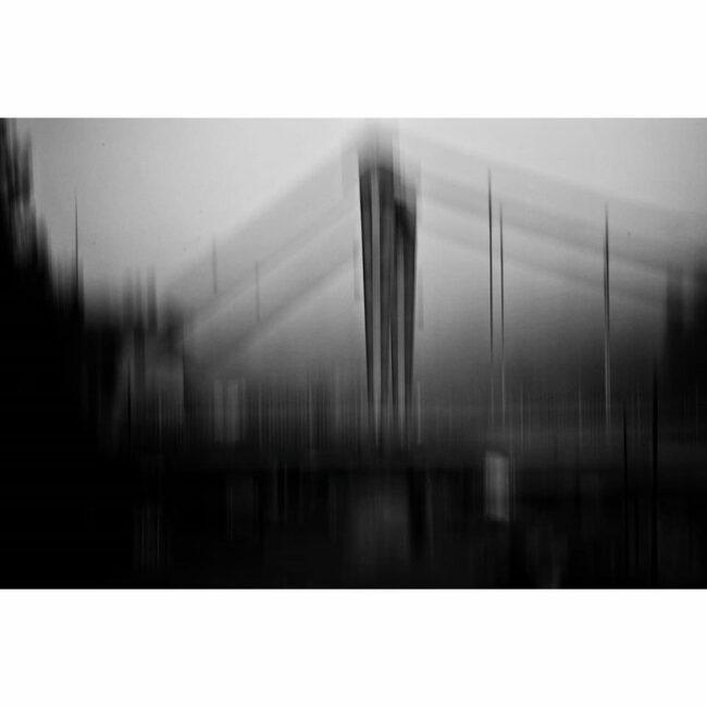 Unscharfe Brücke